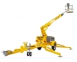 Bil-jax 3632T Towable Telescopic trailer Lift aerial lift for rent sunflower equipment rental topeka lawrence blue springs kansas