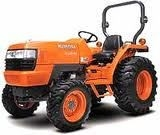 Kubota L3830 Tractor for rent sunflower equipment rental topeka lawrence blue springs kansas