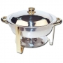 silver round chafer chafing dish for rent lawrence sunflower rental topeka blue springs kansas missouri