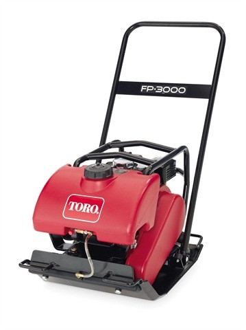 Toro FP-3000 Vibratory Plate for rent sunflower equipment rental topeka lawrence blue springs kansas missouri