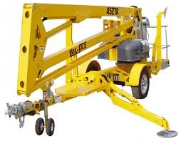 Biljax towable trailer lift for rent sunflower equipment rental topeka lawrence blue springs kansas