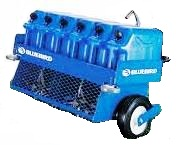 bluebird towable aerator for rent sunflower equipment rental topeka lawrence blue springs kansas