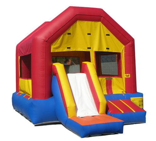 Bounce Castle for rent sunflower equipment rental topeka lawrence blue springs kansas