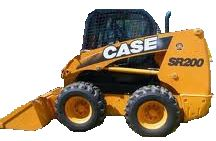 Case Uniloader Skid Steer for rent sunflower equipment rental topeka lawrence blue springs Kansas