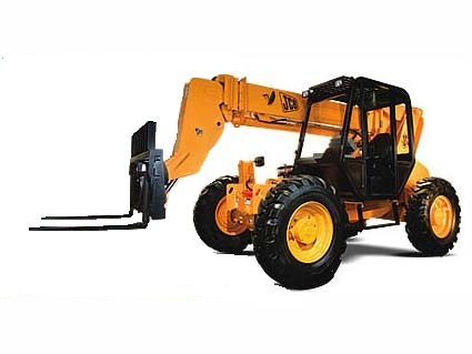 JCB 506HL Telescopic Forklift for rent Sunflower Equipment Rental Topeka Lawrence Blue Springs Kansas