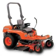 Kubota ZTR mower for rent Sunflower Equipment rental Topeka Lawrence Blue Springs Kansas