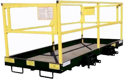 Star Osha approved Forklift Platform for rent Sunflower Equipment Rental Topeka Lawrence Blue Springs Kansas