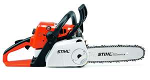 Stihl Chainsaw for rent Sunflower Equipment Rental Topeka Lawrence Blue Springs Kansas