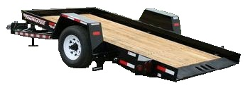 towmaster tilt bed trailer for rent sunflower equipment rental topeka lawrence blue springs kansas