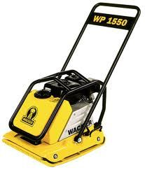 Wacker 1550 Vibro Plate Compactor for Rent Sunflower Equipment Rental Topeka Lawrence Blue Springs Kansas