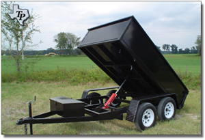 dual axle dump trailer for Rent Sunflower Rental Topeka Lawrence Blue Springs Kansas