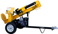 Powertek 516V 5HP 20 Ton Wood Splitter for Rent Sunflower Equipment Rental Topeka Lawrence Blue Springs Kansa